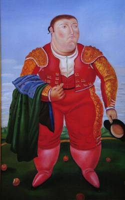 Fernando Botero : The Bullfighter